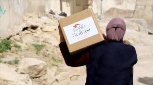 TİKA, Ürdün'de ihtiyaç sahibi ailelere Ramazan yardımına başladı