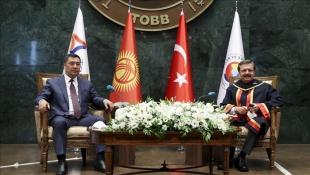 TOBB Başkanı Hisarcıklıoğlu: İnanıyorum ki Kırgızistan ile ticaret hacmini artıracağız