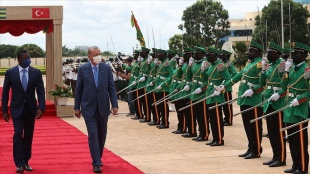 Togo, Cumhurbaşkanı Erdoğan'ın ziyaretini yakından izledi
