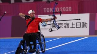 Tokyo Paralimpik Oyunları'nda Nihat Türkmenoğlu gümüş madalya kazandı