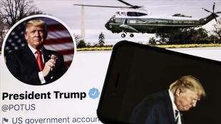 Trump'ın reislik zamanında anadan görme matbuat ve toplumsal iletişim araçları ile mücadelesi bitmedi