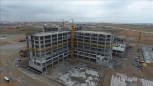 Türk firmanın inşa ettiği Türkistan Bölge Hastanesi 2022'de tamamlanacak
