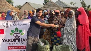 Türk hayırseverler 700 Nijeryalıyı iftarda buluşturuyor
