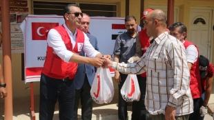 Türk Kızılay, Bosna Hersek'te 35 bin ihtiyaç sahibine kurban eti dağıttı