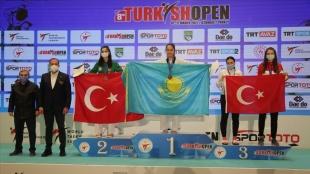 Turkish Open 2021'in beşinci gününde genç milli tekvandoculardan 5'i altın 24 madalya