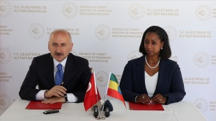 Türkiye ile Etiyopya arasında ulaştırma alanında mutabakat zaptı imzalandı
