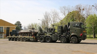 Türkiye, Kuzey Makedonya ordusuna tank taşıyıcı hibe etti