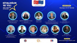 """Türkiye ve AB arasındaki """"Sivil Toplum Diyaloğu""""nun 10. yılı kutlanıyor"""
