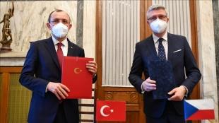 Türkiye ve Çekya arasında Ortak Ekonomi ve Ticaret Komitesi Kurucu Anlaşması imzalandı