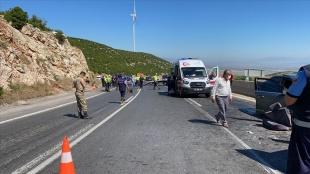 Türkiye'de geçen yıl meydana gelen trafik kazası sayısı yüzde 15,8 azaldı