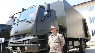 Türkiye'den Gürcistan ordusuna teknik servis araçları desteği