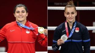 Türkiye'nin 102 ve 103. olimpiyat madalyaları kadın boksörlerden