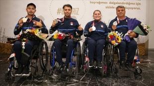 Türkiye'nin paralimpik oyunlarında madalya sayısı 37'ye yükseldi