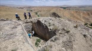 Van'da Urartular dönemine ait yeni bir kale kalıntısı tespit edildi