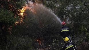 Yunanistan'da devam eden orman yangınları hükümete karşı sert eleştirilere neden oldu