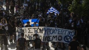 """Yunanistan'da Kovid-19'un """"Mu"""" varyantına rastlandı"""